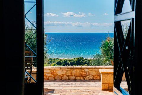 Junior Suite at Kyparissia with Sea View | Natura Club & Spa Luxury Hotel